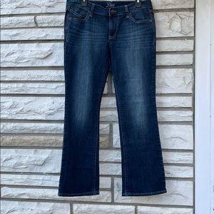 Diva blue jean, bootcut, size 10